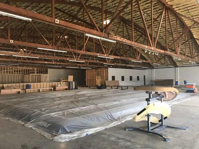 The Flippin' Gym brings gymnastics, karate, aerial silks and a movement-based learning center to the former Pacific Galleries building at 901 9th St. N.