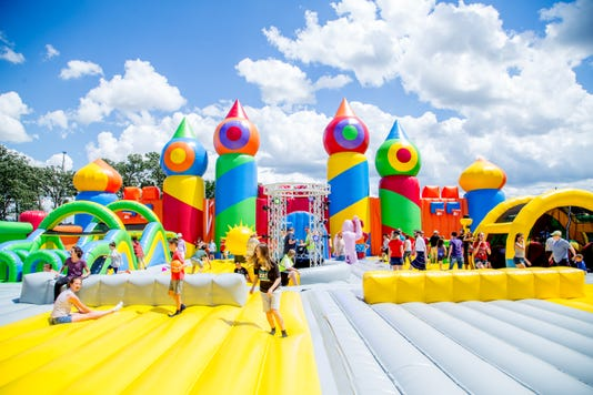 Big Bounce America largest bounce house