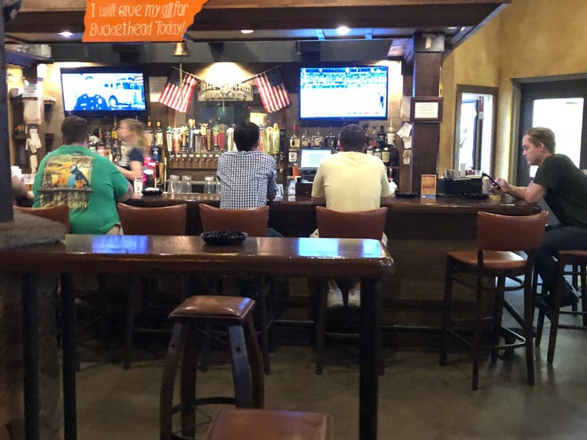 BucketHead welcomes Vol fans with lots of flat-screens, a smoker-friendly environment and indoor and outdoor seating.