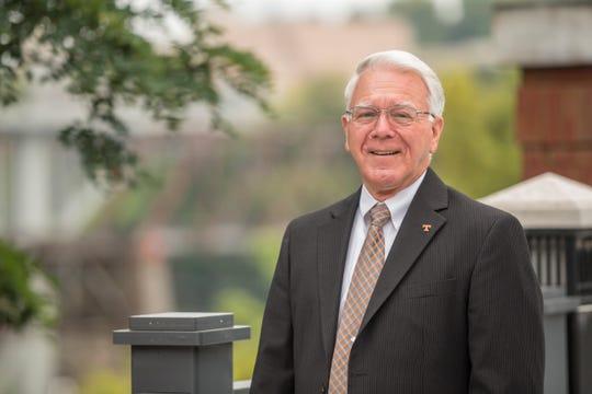 University of Tennessee Interim Chancellor Wayne Davis