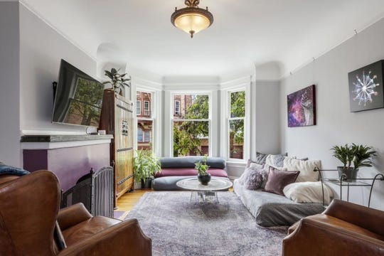 The home of the world's largest bulletin board, Craigslist, was conceived and developed in this San Francisco home, priced at $1.39 million.