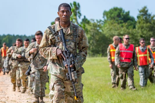 Louisiana Army National Guard training