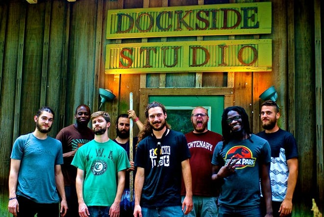 Brass Mimosa will perform Friday at The Pearl in downtown Lafayette.