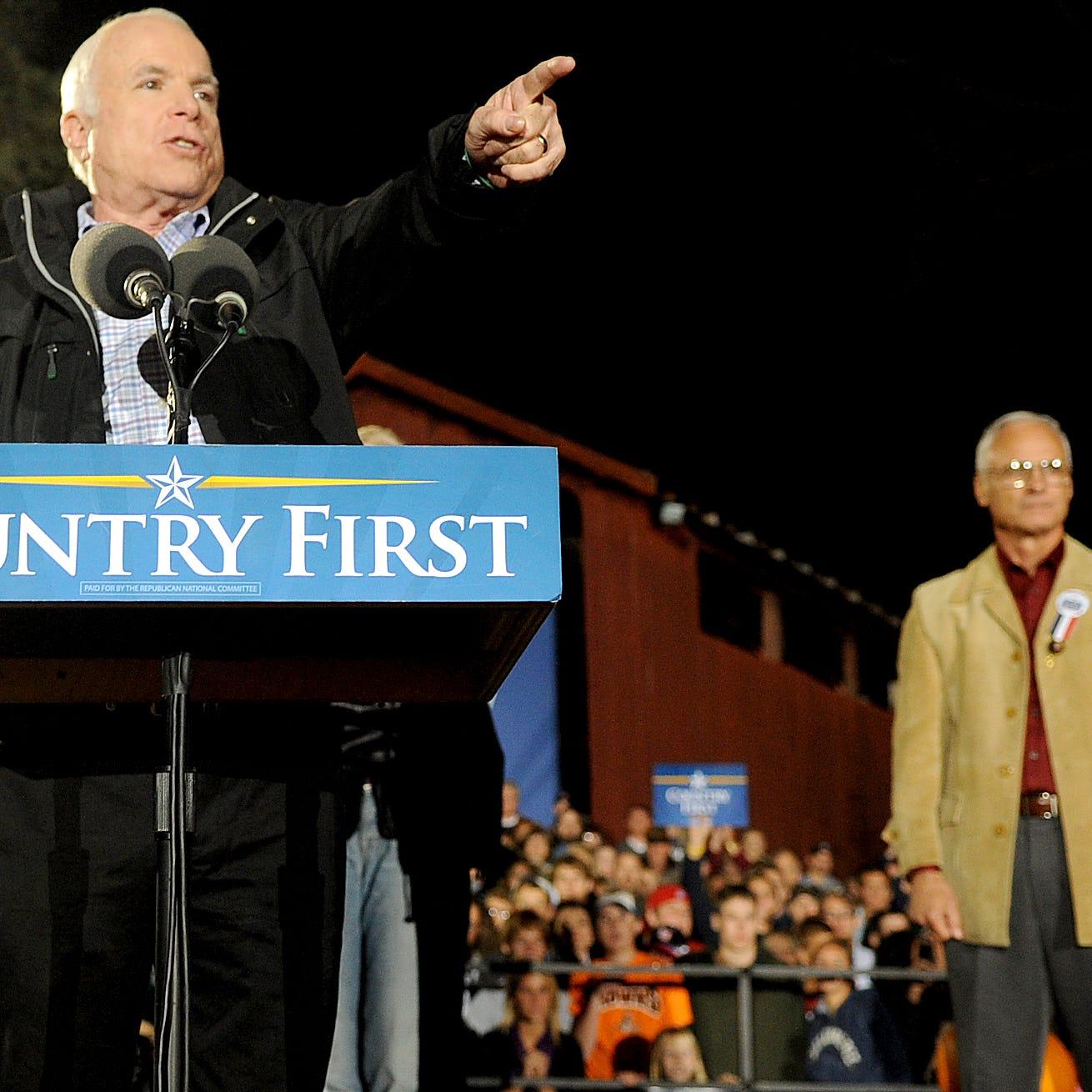 Saluting John McCain