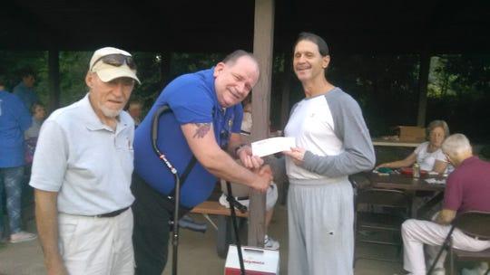 Co-Chairman John Rackham and Grand Knight Vince Johnson