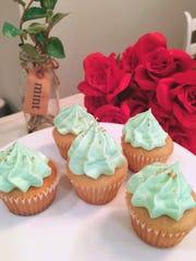 Chateau Bourbon B&B Mint Julep Cupcakes.