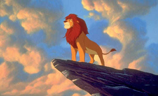 """Our mane man Simba strikes a pride-ful pose in """"The Lion King,"""" which plays Saturday, Sunday and Monday at the Pink Palace."""