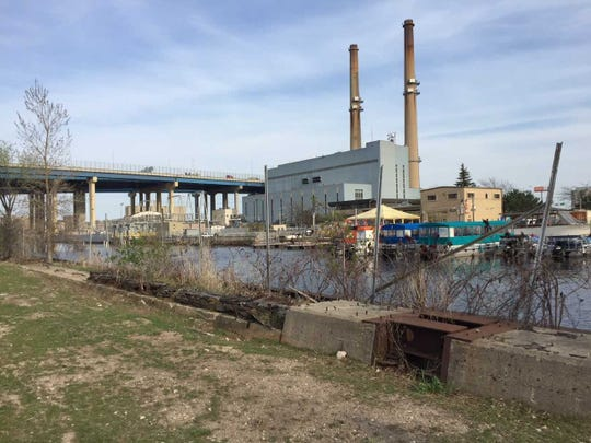 The 15-acre Kneeland Properties, overlooking the Menomonee River near I-94's High Rise Bridge, are being targeted for future light industrial development.
