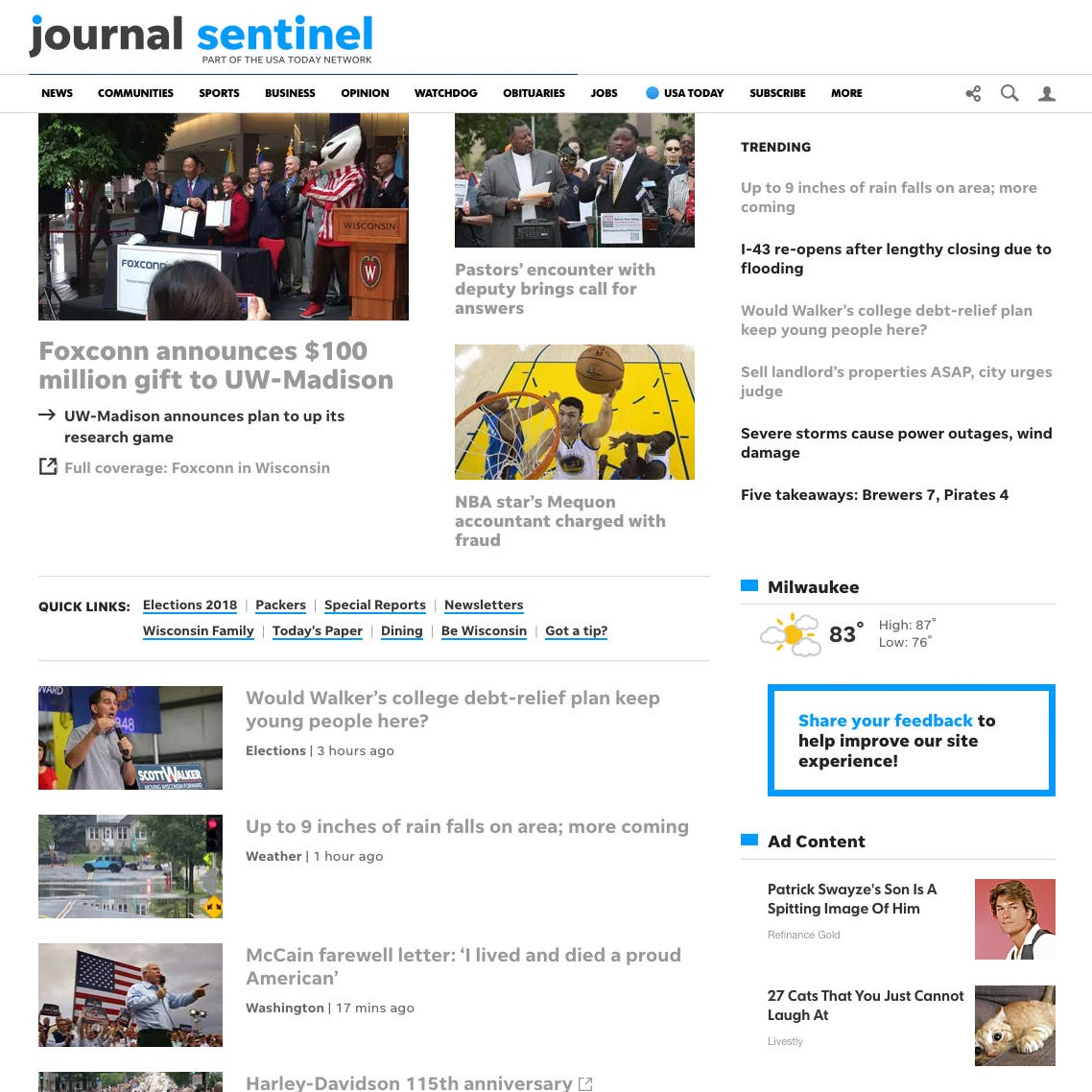 The 10 digital benefits of a Journal Sentinel subscription