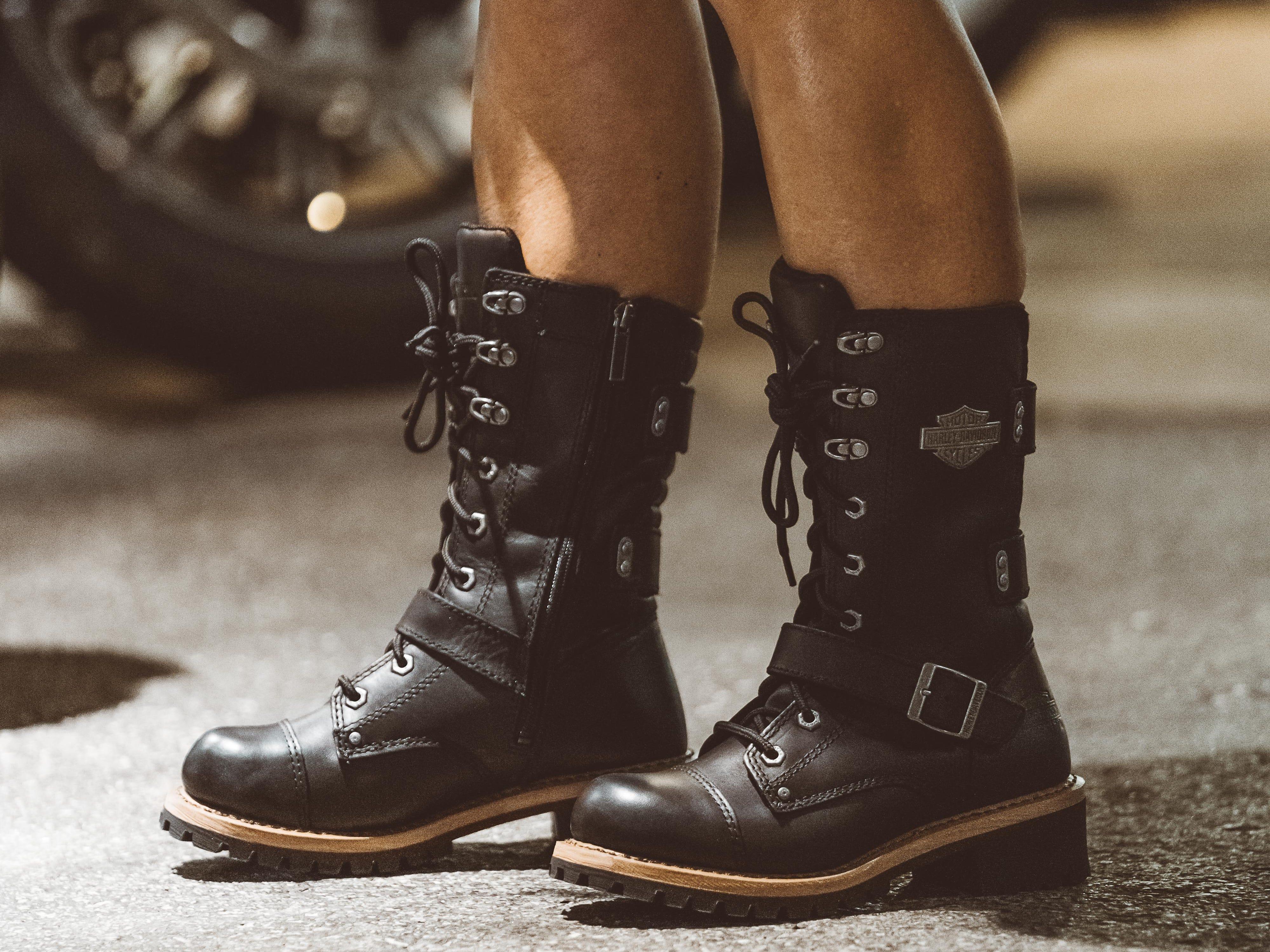 Black Wolverine Alberta boots ($200)