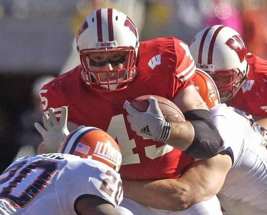 Former Wisconsin fullback Matt Bernstein was a redshirt freshman in the 2001 season.