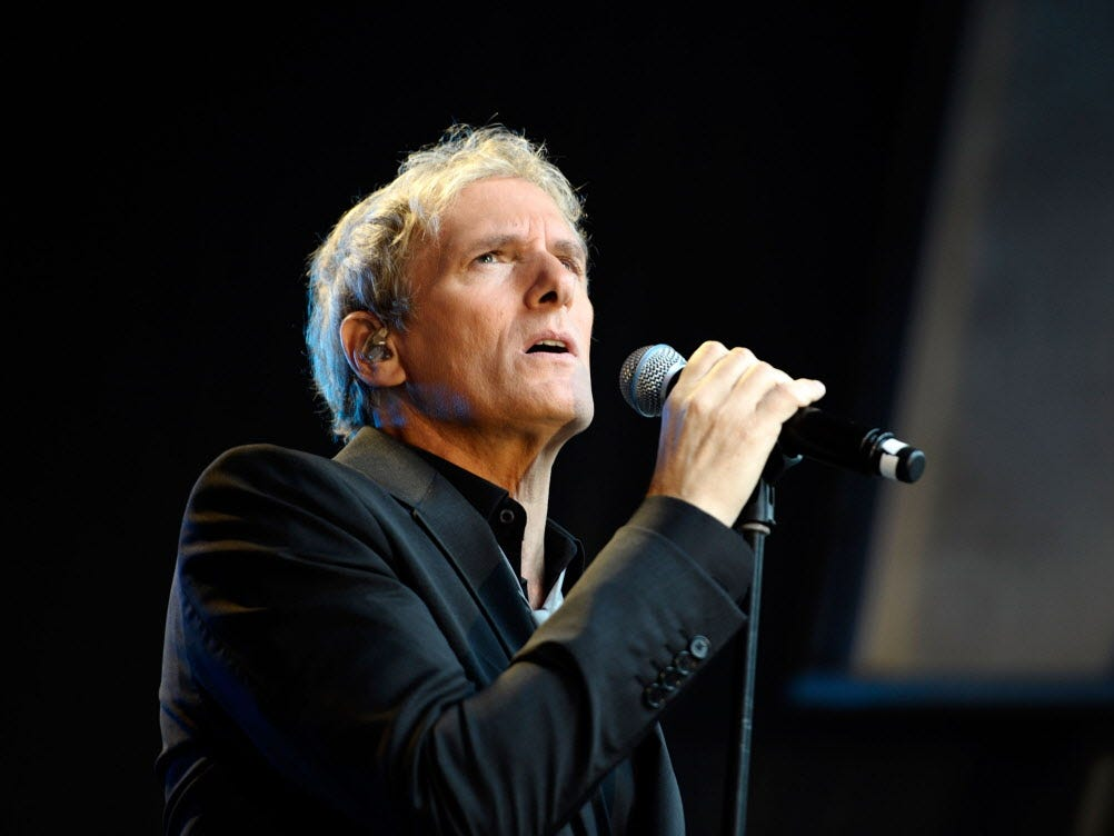 Michael Bolton will perform his hits and holiday songs with a backing symphony at the Riverside Theater Dec. 11. Tickets are $49.50 to $85.
