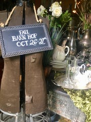 Granville, Ohio, hosts a semi-annual Granville Barn Hop at four locations for vintage, antique, salvage and industrial wares.