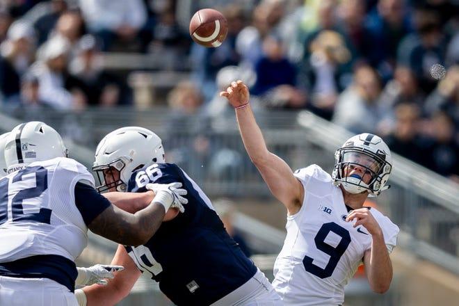 Penn State quarterback Trace McSorley threw for 28 touchdowns last season.