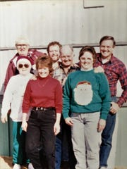 John and Ida Burgamy with their five children, Carolyn, Judy, Doug, Sunny and John Allen.