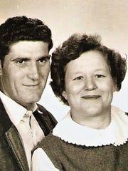 John Burgamy and his wife, Ida Burgamy.