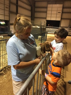 Susan Allen And Goat
