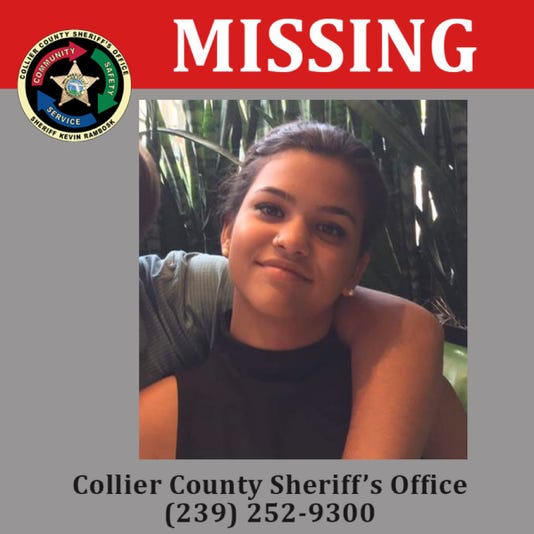 Collier Missing
