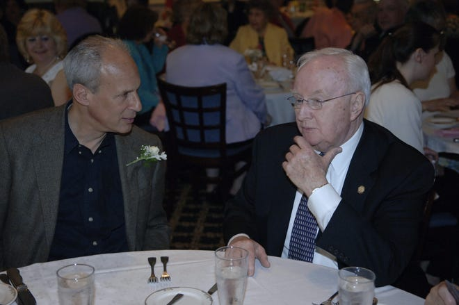 Sen. Henry McNamara of Wyckoff, right, at an event in 2006.