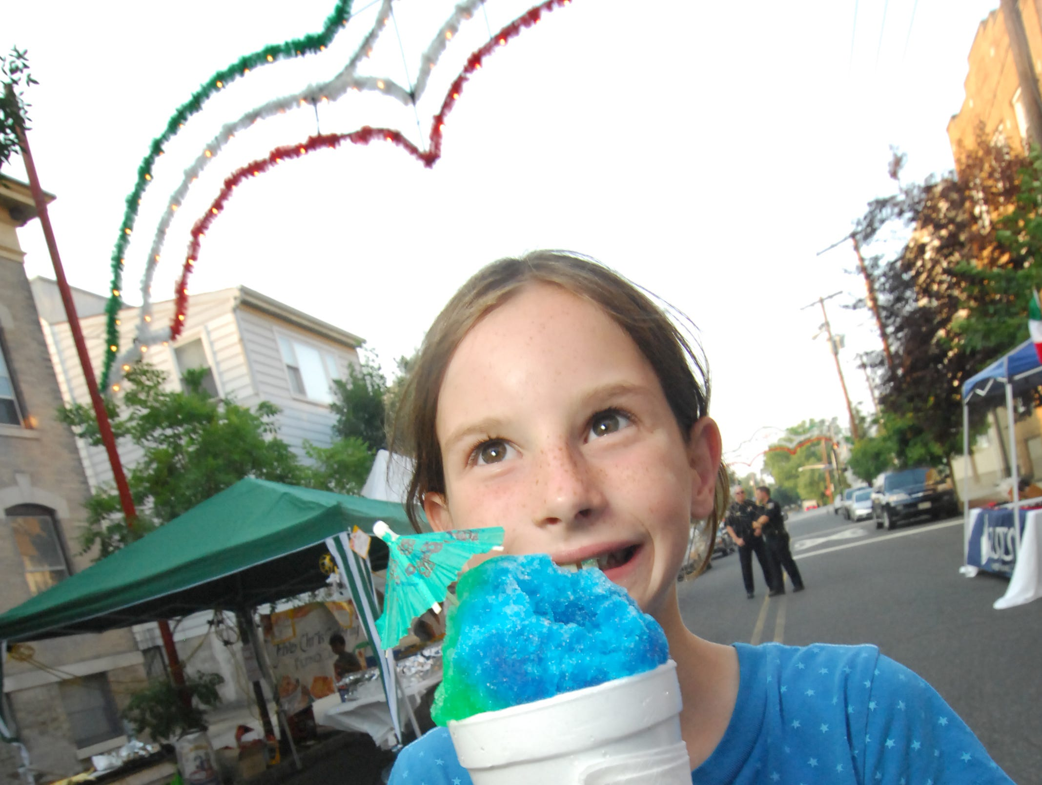 Nick's Shaved Ice keeps Montclair cool.