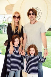 EAST HAMPTON, NY - AUGUST 05:  (L-R) Rachel Zoe, Skyler Morrison Berman, Kaius Jagger Berman, and Rodger Berman attend as the Honest Company and The GREAT. celebrate The GREAT Adventure on August 5, 2017 in East Hampton, New York.  (Photo by Dimitrios Kambouris/Getty Images for The Honest Company)