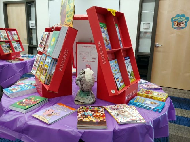 The Scholastic Book Fair is ongoing at Deming Intermediate School and will run through Sept. 7, 2018.