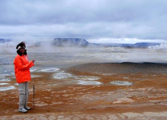 Yvonne Lanelli Iceland