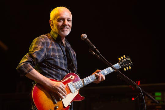 Peter Frampton , seen recently in San Antonio, will perform Friday at Fantasy Springs Resort Casino in Indio.