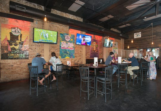 The new Big Top Brewing Company on W. Romana Street in downtown Pensacola on Monday, August 27, 2018.