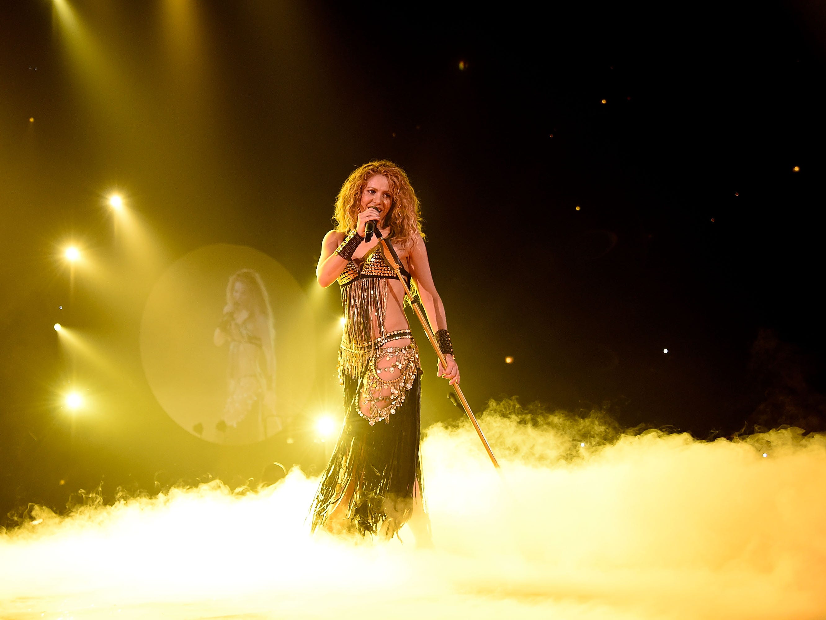 Shakira Kicks Off The North American Leg Of Her El Dorado World Tour at United Center on August 3, 2018 in Chicago.