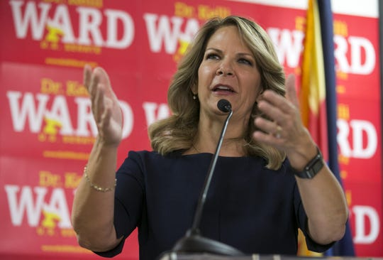 Kelli Ward, newly elected chair of the Arizona Republican Party
