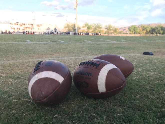 Salome's game against Fort Thomas was started on Friday, Aug. 24, but won't resume until October.