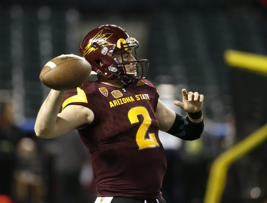 Former Arizona State University quarterback Mike Bercovici is back at school as a member of Herm Edwards' coaching staff.