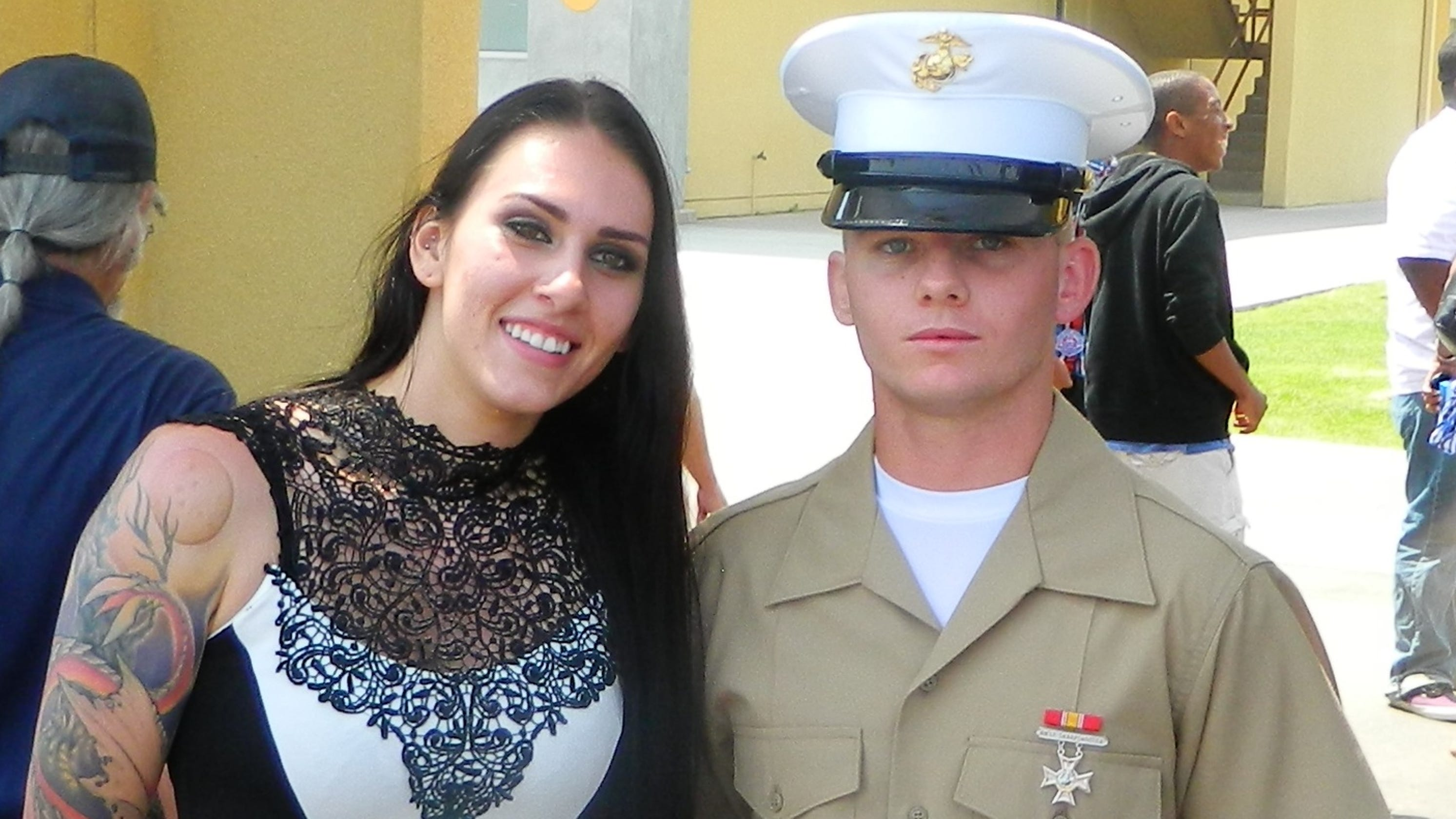 Marine Corps widow faces nearly $10K bill after husband's