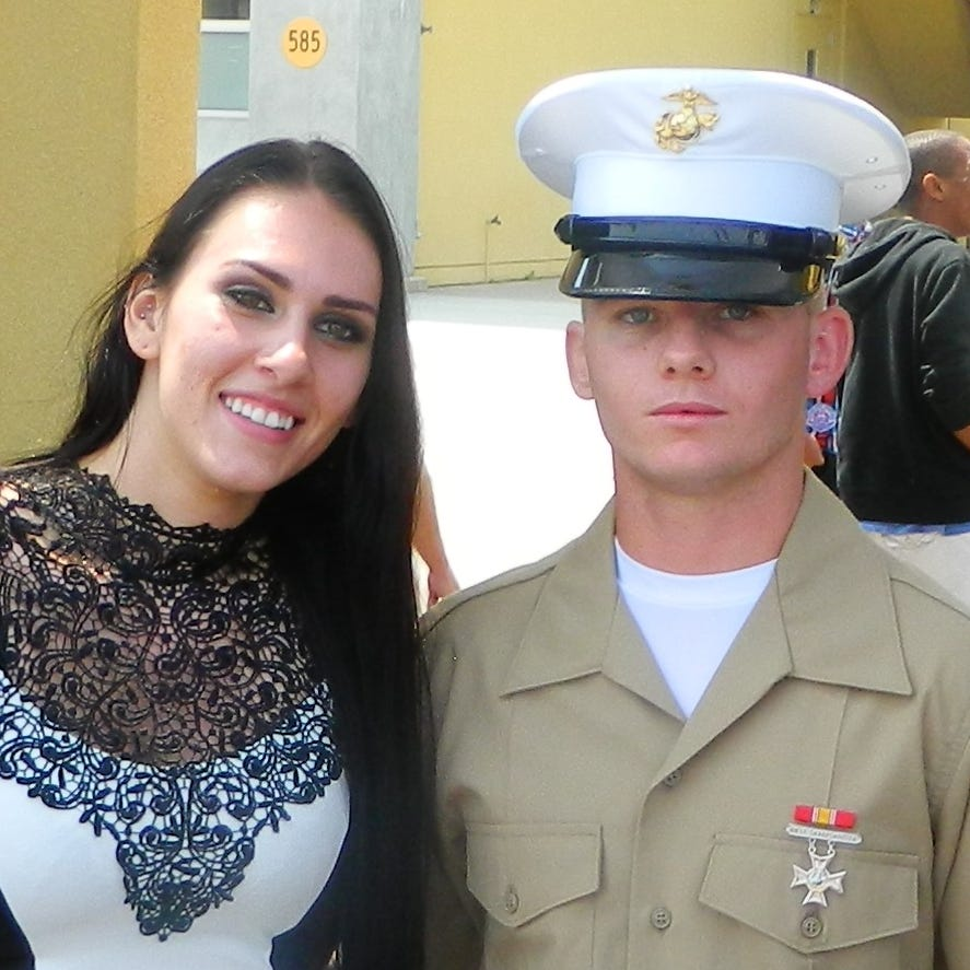 Marine Corps widow faces nearly $10K bill after husband's suicide