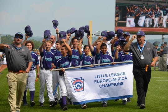 For the first time in 32 years, Spain had a team represented in the Little League World Series.