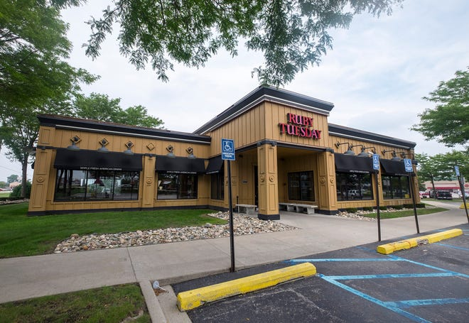 The Ruby Tuesday by Birchwood Mall in Fort Gratiot is closed, according to a note left in the restaurant's door.