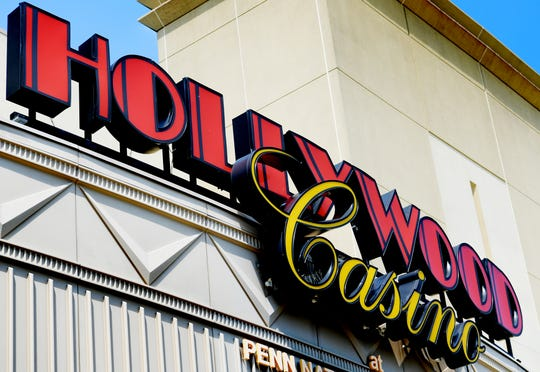 Friday, August 24, 2018--Hollywood Casino in Grantville, near Harrisburg, is operated by Penn National Gaming, which may open a mini-casino in York County. Bill Kalina photo