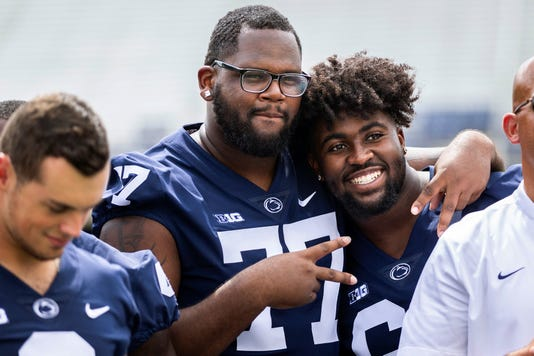 Penn State Football Photo Day 2018