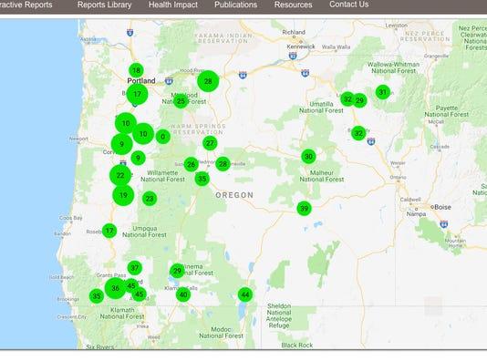 Oregon Air Quality