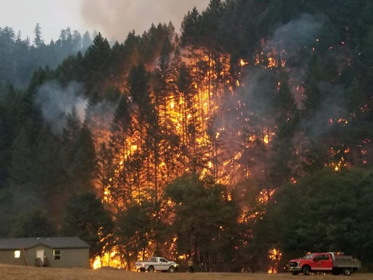 ramsey canyon fire
