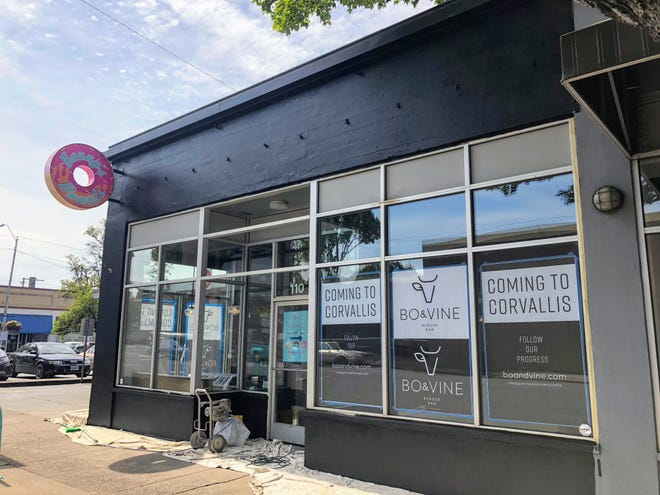 Bo & Vine Burger Bar will open in Fall 2018 in downtown Corvallis.