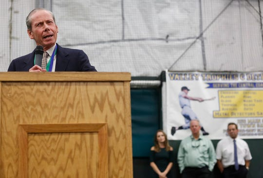 Highlights from the 2018 Salinas Valley Hall of Fame Awards dinner at the Salinas Storm Sports Complex on Saturday, August 25, 2018.