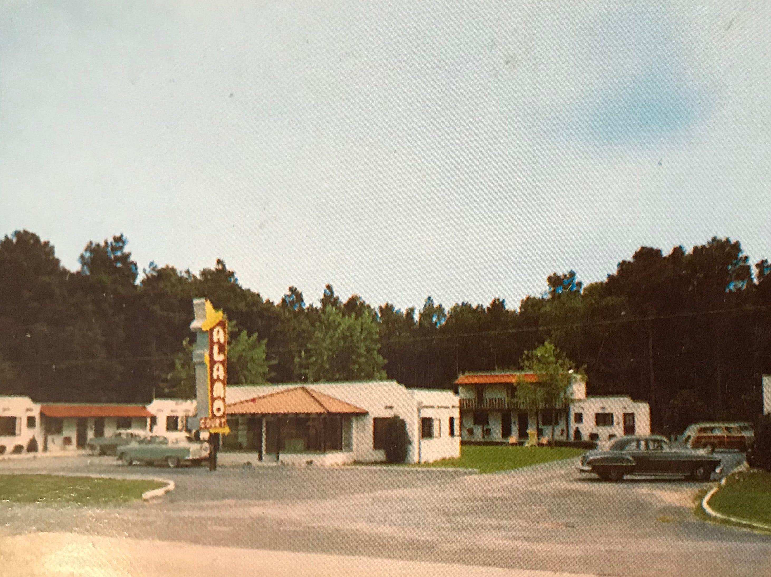 The Alamo Court in West Ocean City.