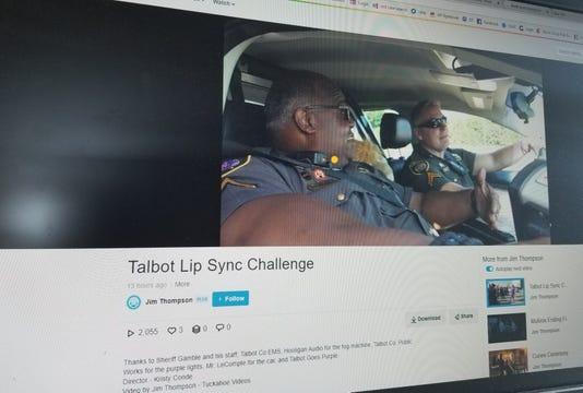 Talbot lip sync video