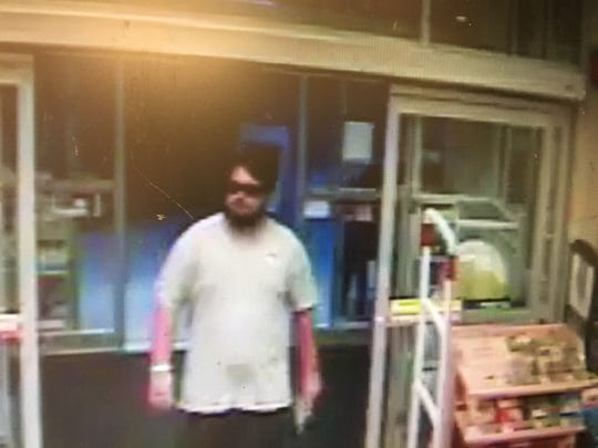 This man is being sought in connection with an Aug. 24, 2018 robbery at a West Ocean City pharmacy, the Worcester County Sheriff's Office said.