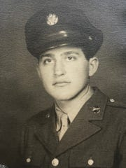 The late Frank Cicero Sr. during his Army days in World War II.