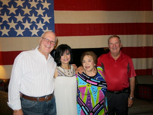 Russ and Dr. Marsha Friedrich, Rachel Brian, Dr. Tobin Grigsby at Brian's birthday party.