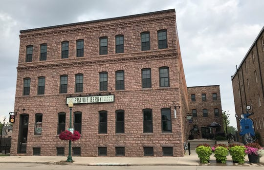 The Frank Building, at 322 E. Eighth St. in Sioux Falls, formerly home to Prairie Berry East Bank.