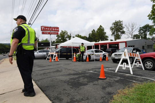 Police help with traffic for Lebanese Butchers Slaughterhouse. The Eid al-Adha crowds cause additional traffic, town attorney Whitson Robinson said. They require extra traffic supervision from the police, a service the Rababeh family pays for.